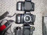 I have a Lot of (4) 35mm SLR bodies for Parts/Repair.