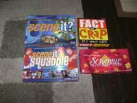 I have 4 board games for sale that have hardly been