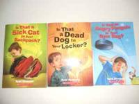 This is a lot of 4 Scholastic Books all in like new,