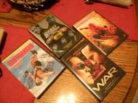 Lot of 4 DVD's in good condition. $10.00 OBO. Text  if