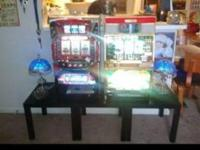 For sale please share. 4 Japanese slot machines with