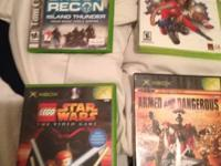I have a lot of 4 original xbox games I'm selling.
