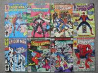 LOT of 48 assorted AMAZING SPIDER-MAN & Spectacular