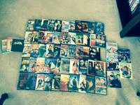 I am wishing to sell these 55 DVD's to somebody who