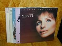 I have for sale a lot of 5 Barbra Streisand movie &