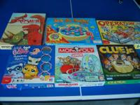 For sale is a great deal of six board games consisting