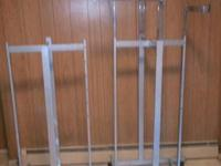 I have (5) 4-way adjustable straight arm clothing racks