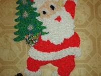 Lot of 6 Large Xmas Decorations for Doors or Windows