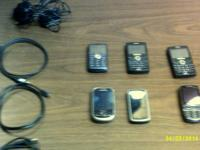 lot of 6 Phones   1 Samsung Gravity 3 GSM Tmoble - with