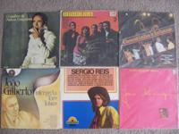 Lot of 6 vinyl records in Portuguese. $60 for all.