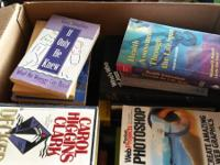 I AM SELLING A LOT OF RANDOM (60) BOOKS.  PLEASE LOOK