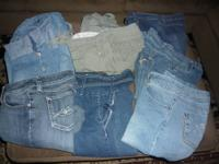 Lot of Jr./Ms. like new Capris...perfect for summer and