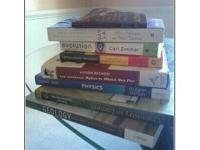 For sale-- 8 school books that I don't need anymore. I