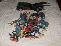 I have a lot of mixed action figures including some