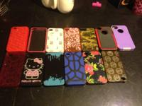 I have a lot of assorted cases for the iPhone 4S. Some