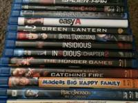 I have a lot of Blu-rays that I am offering from my
