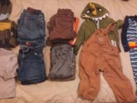 I have a lot of boys 2T/24m clothes. All are in good