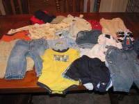 I have a lot of boys clothing size 6-9 mo up to size 18