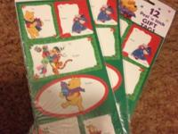 I HAVE A BOX FULL OF ORNAMENTS CHRISTMAS CARDS TAGS
