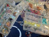 Selling great deal of Costume Jewelry and Loose Beads.