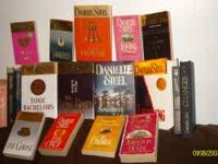 LOT of DANIELLE STEEL books 18 n all...9paper back...9