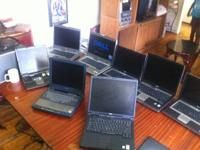 HAVE  8 LAPTOPS. 7 ARE DELLS 1 IS A TOSHIBA  2DELLS