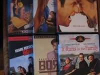 Lot of 44 dvds. Condition and titles listed below Pick