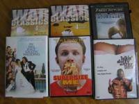 I have some DVD movies for sale. In all there are 10