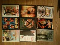 Lot of 17 DVD's $25 for all   -Miss Julie.
