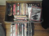 ~ 73 DVDs for sale.  When but I am willing to part out,