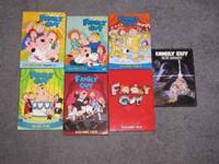 I AM SELLING MY LOT OF FAMILY GUY DVDs. THIS INCLUDES