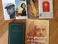 French novels & literature books and on cassettes CASH