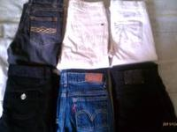 Gently used Girls Clothing size 7 & more. Includes: