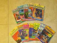 I have 11 Goosebump books from R.L. Stine. Here is the