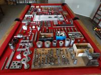 This is a large lot of machinist / precision tools, so