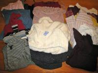 I have a few posts for maternity clothes. Most are Gap,