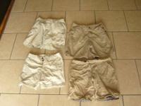 YOUR VIEWING 4 PAIR OF NAME BRAND SHORTS 2 PAIR