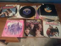 A Total of 58 Oldies Music 45's. $40.00 Please contact