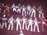 Lot of custom clone troopers for sale. Contact  if