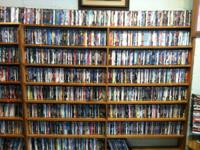 Must sell !!!!! Over 2200 DVD's in the case. Bulk are