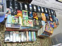 I am selling a lot of over 300 VHS tapes - all in very