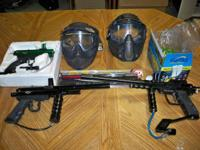 We have a for sale a great deal of paintball gear. The