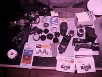 I have a huge lot of PENTAX movie electronic camera