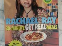 Rachael Ray cookbooks:  30 Minute Get Real Meals