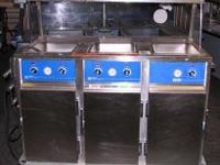 FOR SALE: Wittco 3-Well Hot Food Serving Counter,