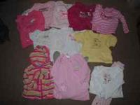 I have a lot of little girls clothes, summer and winter