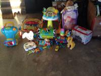 Lot of toys that I can sell separately or altogether.