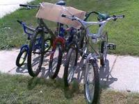 I have a lot of old bikes in various conditions. They