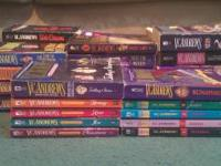 V. C. Andrews paperback lot 9 COMPLETE series / 42