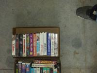Up for sale is a great deal of vhs tapes I am selling